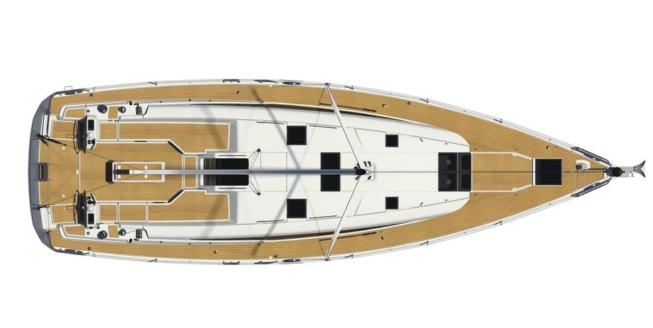 Jeanneau 54 Deck